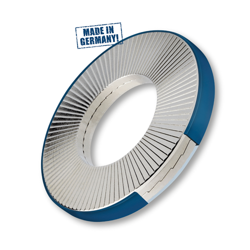 Wedge Locking Washers, Ring, Stainless Steel (Large OD)